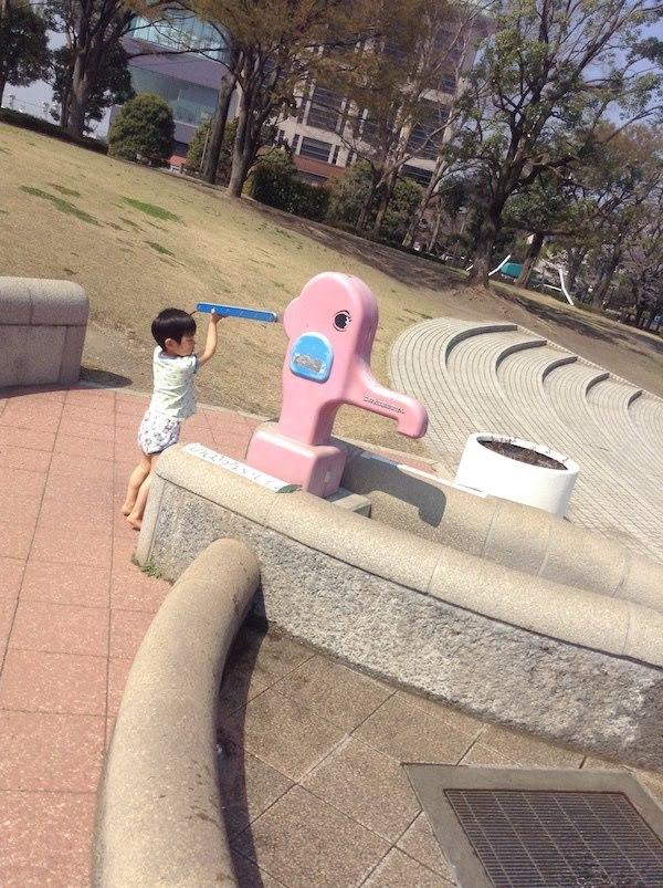 東京競馬場の日吉が丘公園の馬シャ馬シャパークはおすすめ