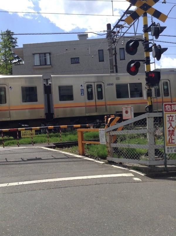 浜田山2号踏切