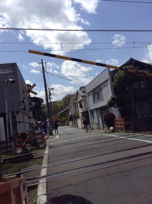 浜田山3号踏切