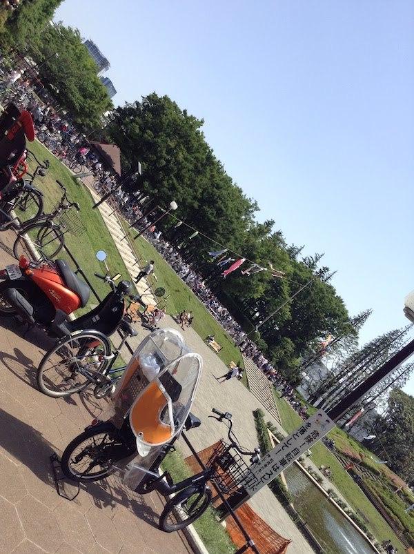 世田谷公園には交通公園もある