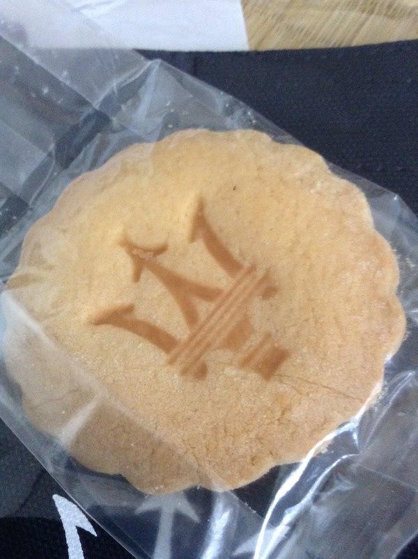 マセラティはジュースに加え、クッキーが無料でもらえるのでおすすめ