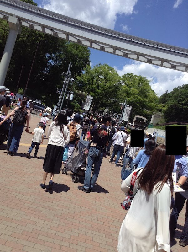 多摩動物公園の入園無料日の混雑ぶりがすごい
