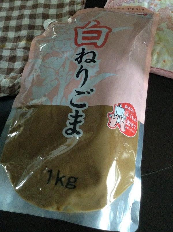 浜乙女白ねりごま1kg 960円
