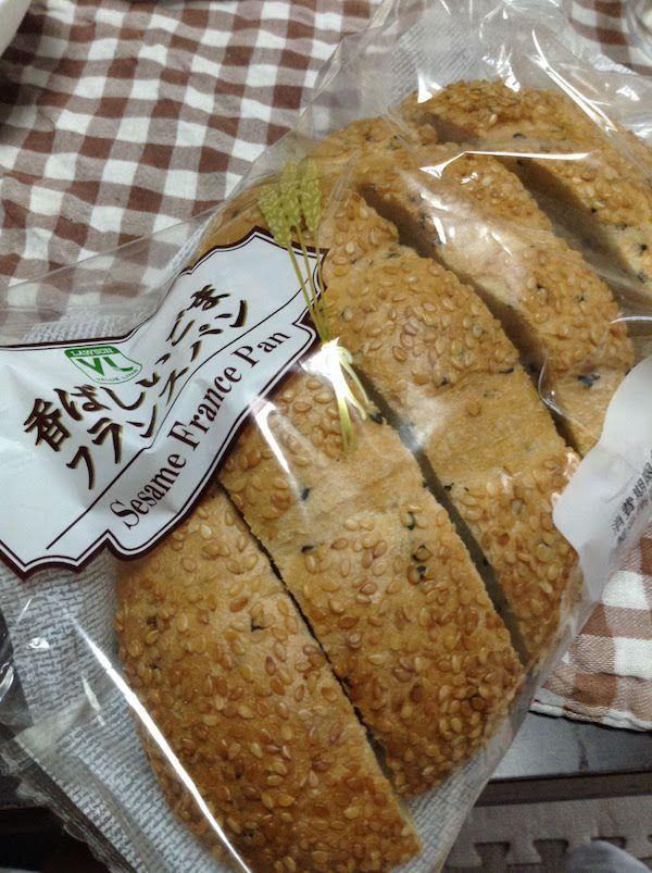 VL香ばしいごまフランスパン6枚(ローソン)は美味しいし低価格でお得