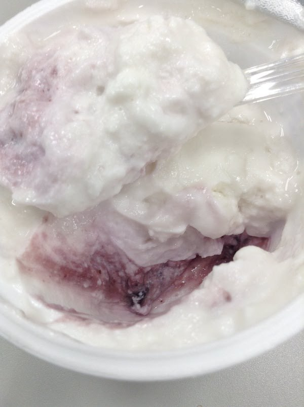 ダノンオイコス 脂肪ゼロ ギリシャヨーグルト ブルーベリー
