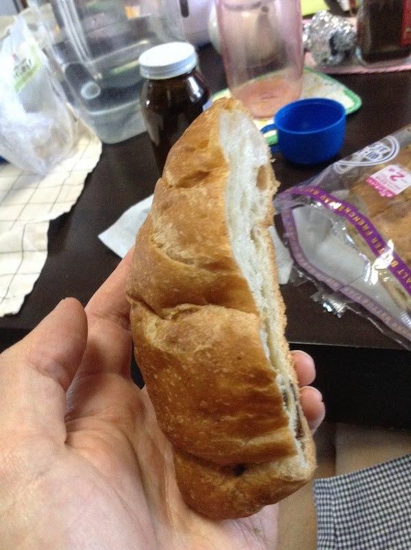 塩バターフランスパン レーズン(ヤマザキ)の味・食感等の感想・評価とおすすめレシピ