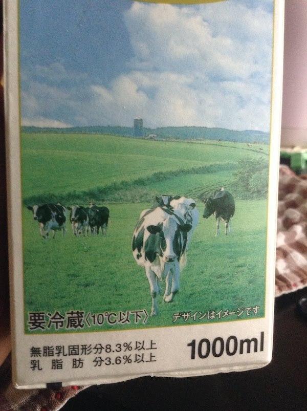 酪農育ち3.6牛乳(わたぼく・森乳業)の原材料等