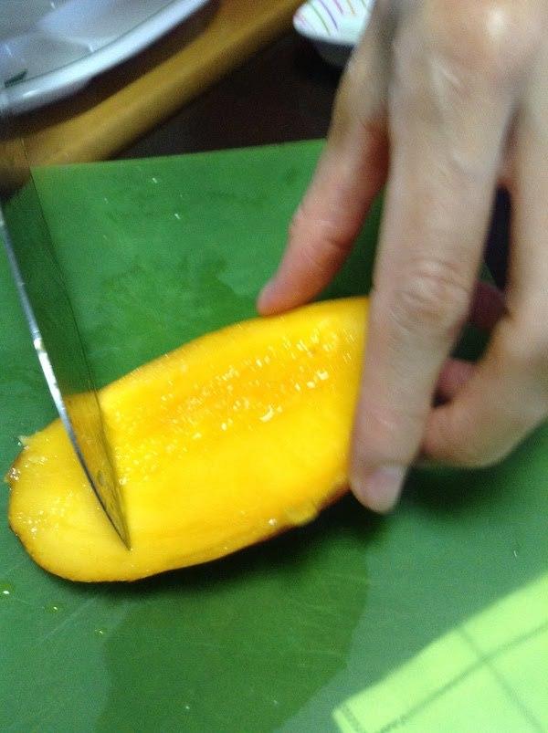 完熟マンゴーのレシピや味の感想・評価等