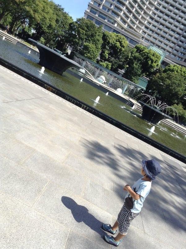 東京駅周辺で子供におすすめの和田倉噴水公園とKITTEとランチ弁当