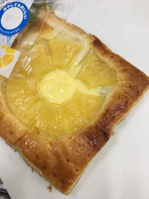 パイナップルのパイ(ヤマザキ)の味・食感等の感想・評価