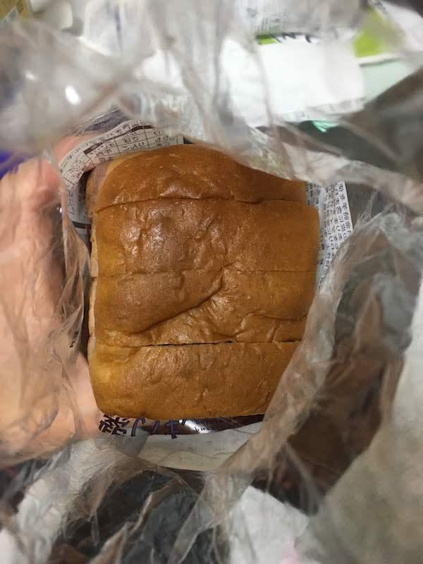 紫いも&鳴門金時4枚入り食パン(タカキベーカリー )の原材料名・カロリー等の栄養成分
