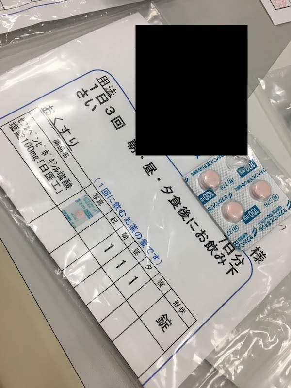 セフカペンピボキシル塩酸塩錠100mg「日医工」