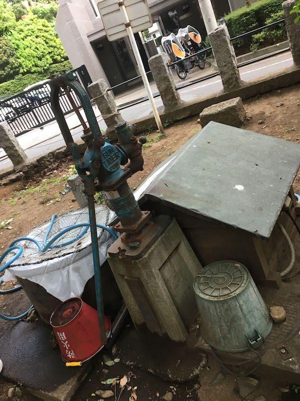 堀之内熊野神社の井戸