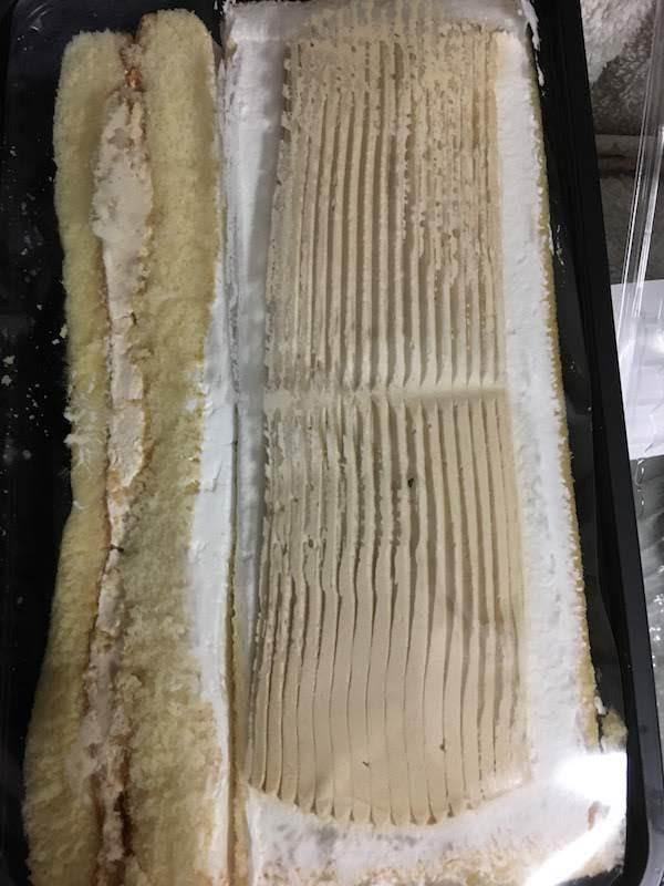 カンパーニュの湘南パティスリー切り落としケーキ(渋栗モンブラン)の味・食感等の感想・評価