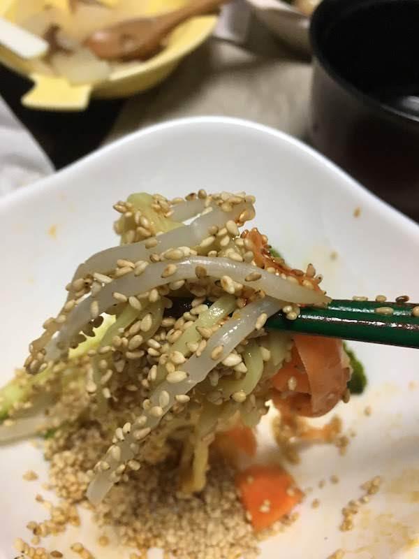 日清のそのまんま麺 冷しジャージャー麺