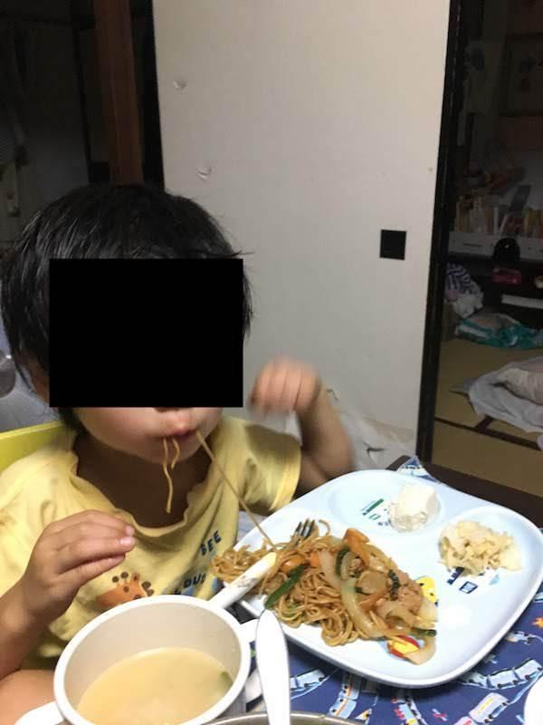 中国ラーメン揚州商人 上海焼そば(シマダヤ)の原材料・カロリー等の栄養成分等