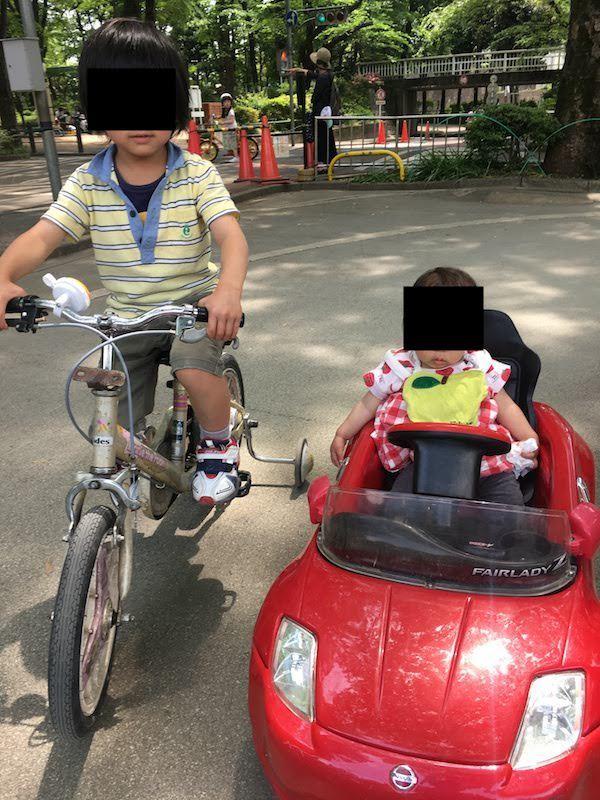 交通公園は補助なし自転車に乗れるようになっても楽しい