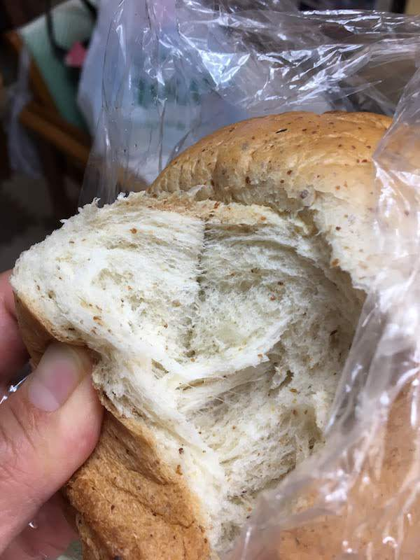 ブラン入り食パン一斤